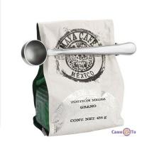 Мерная ложка-зажим для упаковки чая и кофе