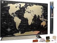 Скретч карта мира My Map Black Edition ENG - карта путешественника