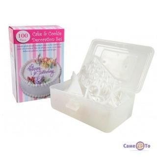 Набір для прикраси тортів 100 Piece Cake Decoration Kit