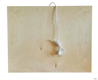 Обогреватель - подставка из дерева Трио, 100W