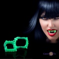 Пластикові зуби вампіра для дітей на Хеллоуїн, світяться в темряві