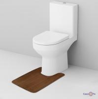 Килимок для туалету з вирізом під унітаз 59х40 см