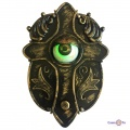 Живой дверной звонок на Хэлоуин - звонок на дверь Animated Haunted Eyeball Doorbell