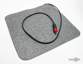 Інфрачервона грілка від прикурювача для авто Тріо, 37х32 см