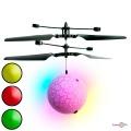 Игрушка летающий шарик со светом Flying Ball