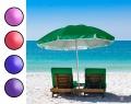 Большой пляжный зонтик от солнца с наклоном, диаметр 1.75 м
