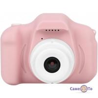 Перший фотоапарат для дитини Summer Vacation Cam - дитяча цифрова фотокамера, Рожева
