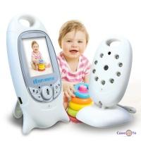 Беспроводная видеоняня - камера с термометром Video Baby Monitor VB601