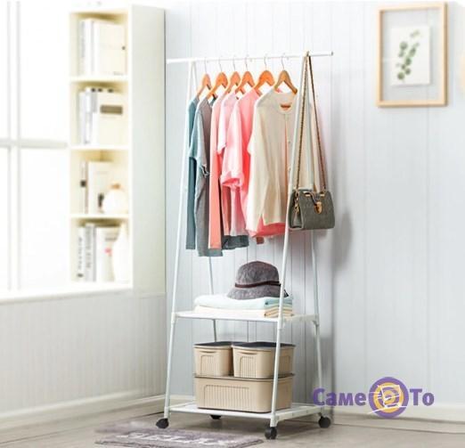 Напольная вешалка для одежды - это компактная стойка для одежды