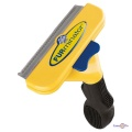 Щетка-расческа фурминатор для длинношерстых собак FURmate de Shedding tool