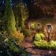 Светильник на солнечной батарее 1 шт. - стильный садовый фонарь