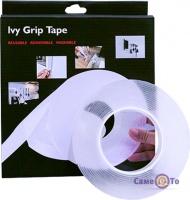 Многоразовая липкая лента скотч Ivy Grip Tape, 5 метров