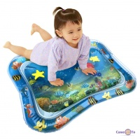 Надувной водяной акваковрик для детей (65х48см)