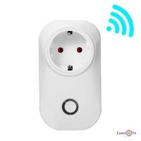 Розумна вай фай розетка з дистанційним керуванням WiFi Smart Plug