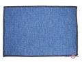 Електрокилимок з підігрівом (ковролін) Тріо (синій, прямокутні кути)