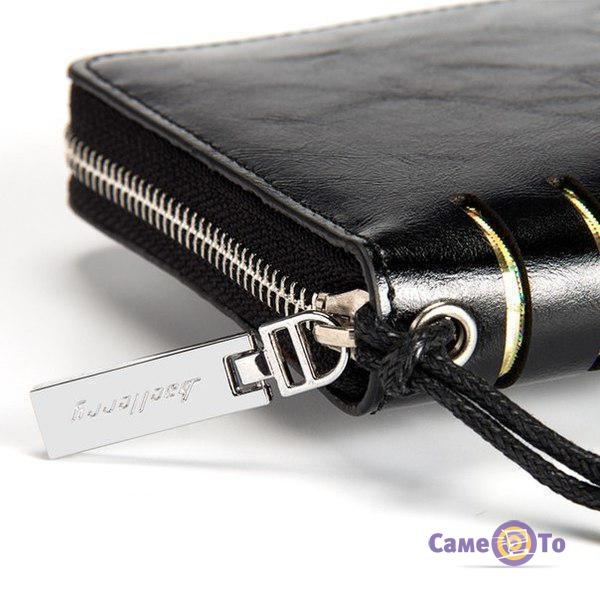 Мужское портмоне Baellerry - бумажник (черный), W009