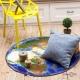 Безворсовий килим для дому 3D, 120 см (в асортименті)