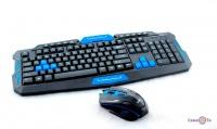 Комплект игровая беспроводная клавиатура с мышкой HK8100