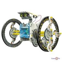 Дитячий робот конструктор на сонячних батареях Solar Robot 14 in 1