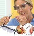 Збільшувальні окуляри Big Vision з підсвічуванням, окуляри лупа для дрібних робіт