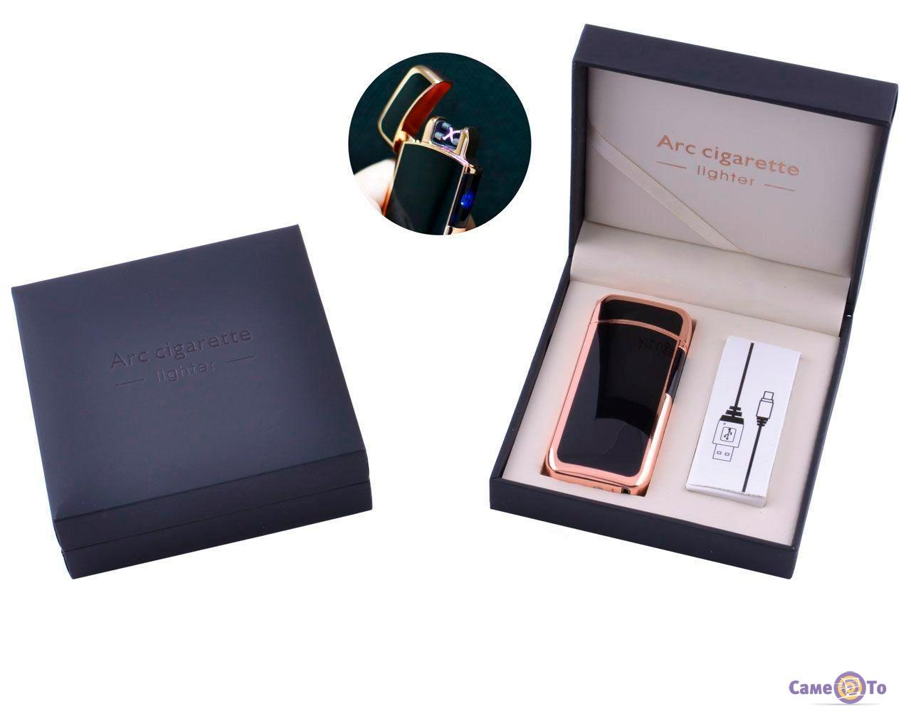 Электроимпульсная USB зажигалка Arc Cigarette в подарочной упаковке