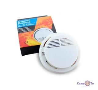 Автономный детектор дыма Smoke Alarm SS 168 - датчик задымления для дома