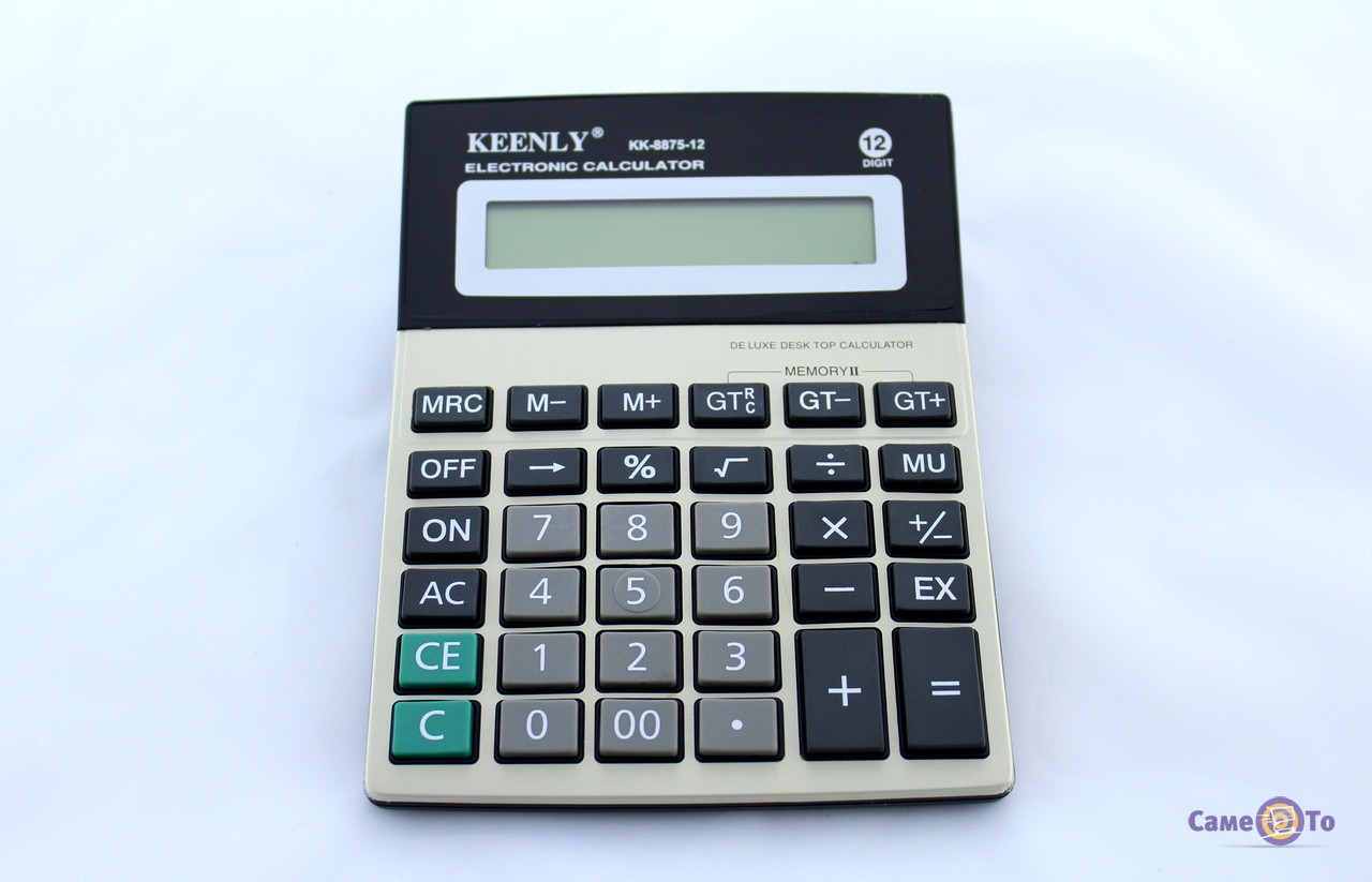 Простой калькулятор Keenly KK-8875-12, электронный