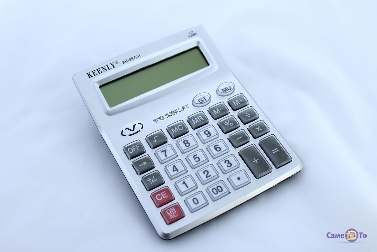 Умный калькулятор Keenly 8872B, настольный