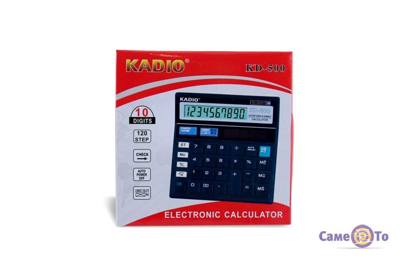 Калькулятор инженерный Kadio KD 500, 10-разрядный