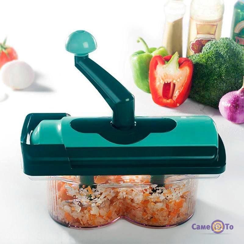 Мультирезка Nicer Twist - кухонный измельчитель овощей