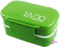 Термосудок - контейнер для їжі (ланч бокс) з відділеннями (12.00 It is lunch timе)