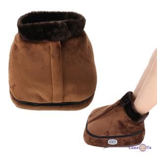 Масажер для ніг Warm massager 2 в 1- грілка вібромасажер