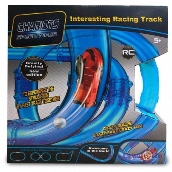 Трек для машинок - трубопроводные гонки Speed Pipes, 37 предметов