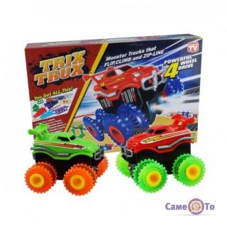 Машинки Монстр Трак Trix Trux - машины монстры Monster Truck, набор