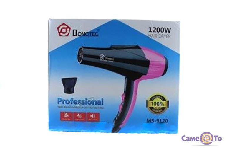 Фен для волос профессиональный Domotec MS 9120 - фен для сушки волос