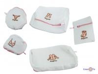 Мешок для стирки - универсальная сетка для стирки белья, набор 5 шт.