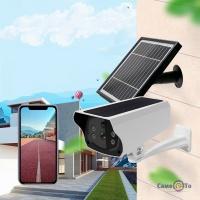 Камера відеоспостереження UKC Solar Camera Y4P-4G з сім картою