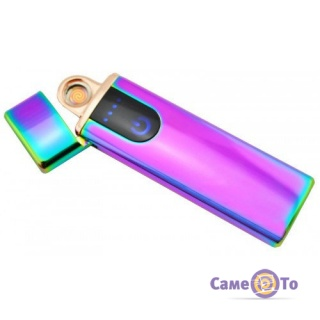 Электро импульсная зажигалка Lighter Classic Fashionable - зажигалка USB (4779)