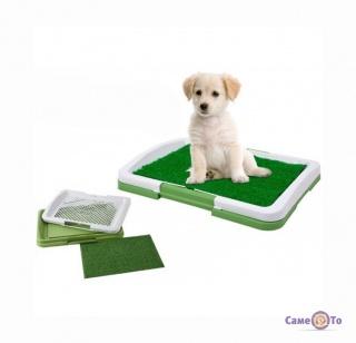 Лоток для собак Puppy Potty Trainer – это домашний туалет для собак