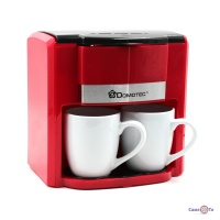 Крапельна електрична кавоварка для дому Domotec MS-0705 Red