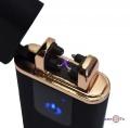 Импульсная зажигалка Classic Fashionable (5402) (750) - плазменная зажигалка с USB (черная матовая)