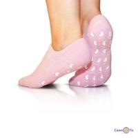 Гелевые спа носочки для педикюра Spa Gel Socks c маслом жожоба