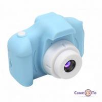 Перший дитячий фотоапарат Summer Vacation Cam - фотокамера для дітей, Блакитна