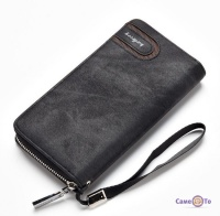 Бумажник мужской - клатч Baellerry с ремешком на руку, S1514