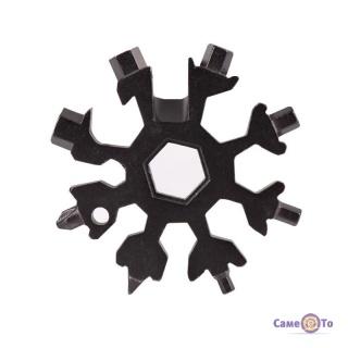 Універсальний гайковий ключ Сніжинка - кишеньковий мультитул Snowflake multitool
