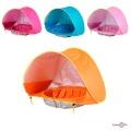 Дитяча палатка пляжна та дитячий басейн 117х79см, ігрова палатка для дітей