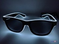 Светящиеся неоновые LED очки - клубные очки для вечеринок
