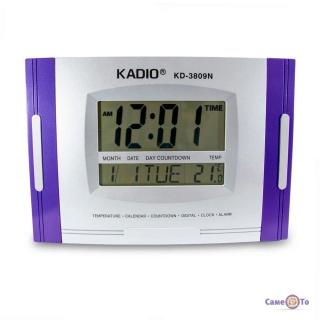 Годинник KadioKD-3809N - це електронний годинник настільний