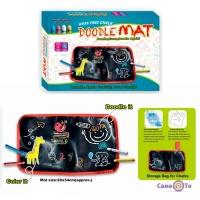 Багаторазовий альбом для малювання крейдою - килиок Doodle Mat (маленький)