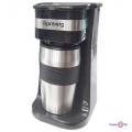 Кофеварка капельная для дома - компактная электрокофеварка Rainberg RB-611 + термокружка